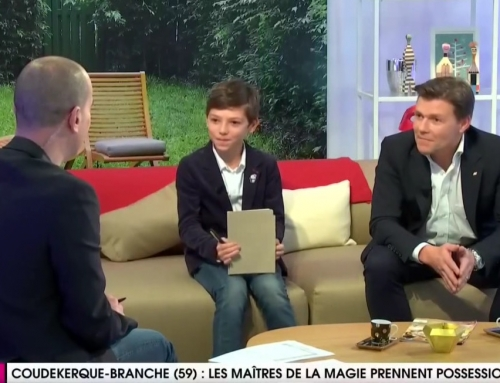 Reportage WéoTV concernant le festival des maîtres de la magie