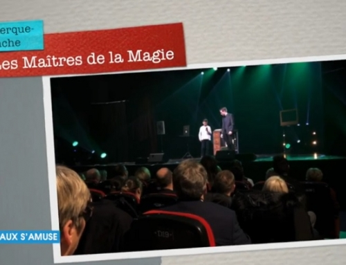 Margaux s'amuse avec les Maîtres de la Magie à Coudekerque-Branche